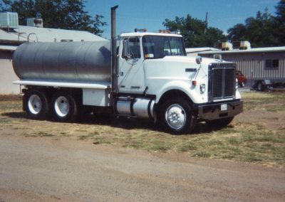 Potable Water Truck with stainless steel tank