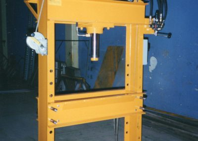 25 Ton Electric Hydraulic Press manufactured for another fabrication shop
