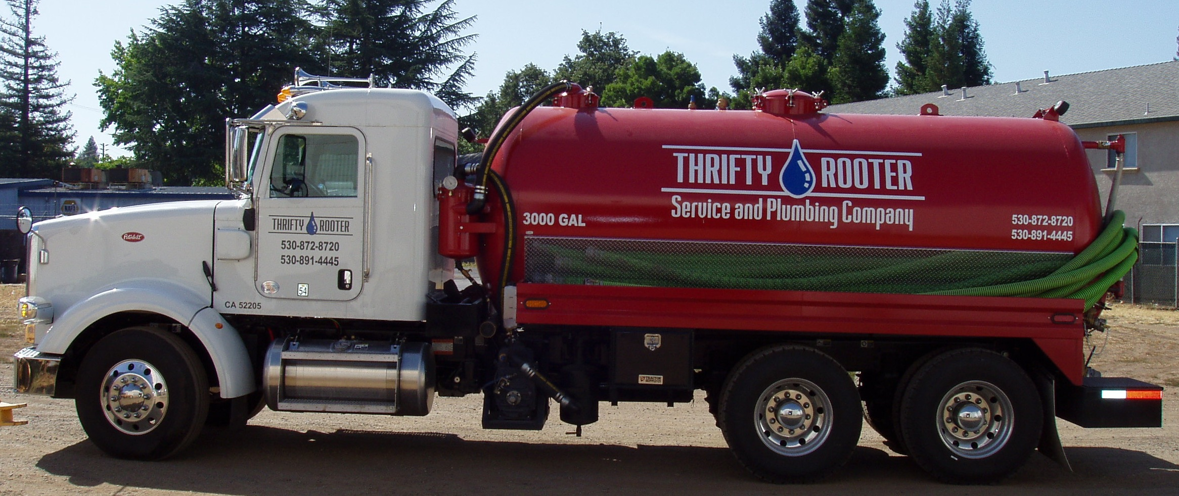 2014 Peterbilt Septic Pump Truck Built by R&D Hydraulics
